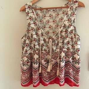 Woman's Boho Blouse